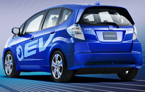 Honda Fit EV Coming to USA