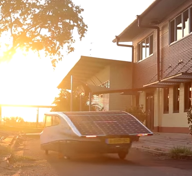 Solar Powered EV Has 500 Miles Range