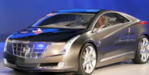 Electric Cadillac Concept of Chevy Volt (Converj)