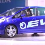 Honda Fit EV Concept Car