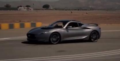 Infiniti Emerg-e Electric Concept Car