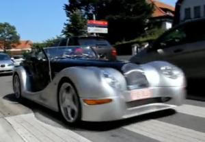 British EV from Morgan Motors the Electric Plus E