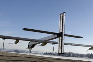 Solar Impulse Round-The-World EV 1st Flight Test Success