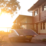 Solar Powered EV Has 500 Miles Range