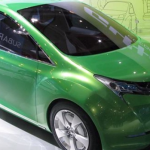 Subaru EV Concept G4e Green 4 Earth